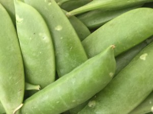 Sugar Snap Peas from Beet Box!
