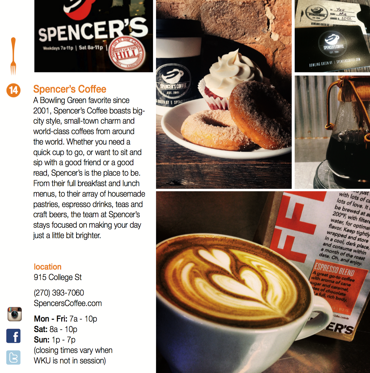 Spencer's Coffee