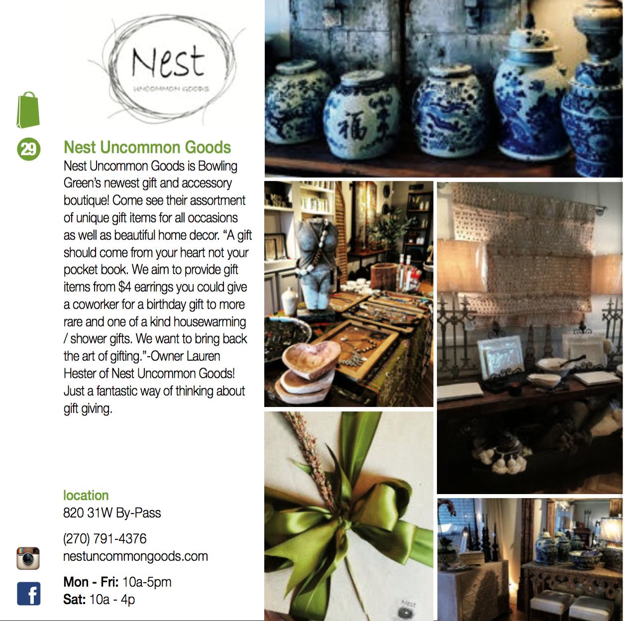 Nest Uncommon Goods