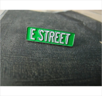 E STREET - BRUCE SPRINGSTEEN & THE E STREET BAND PIN $7.00