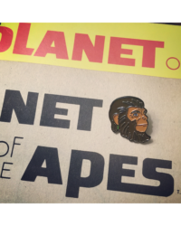PLANET OF THE APES ENAMEL PIN $7.00