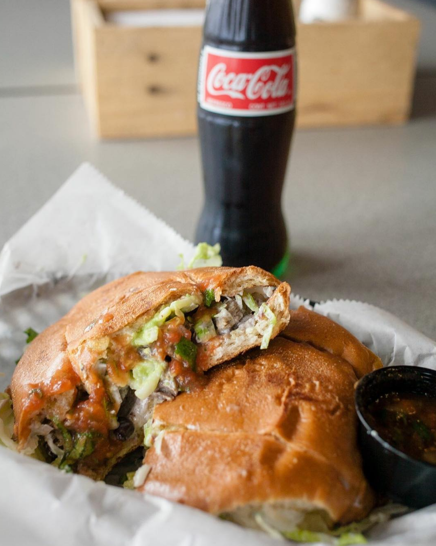 Fresh Friday Tortas are only 5.99 at MexOut!
