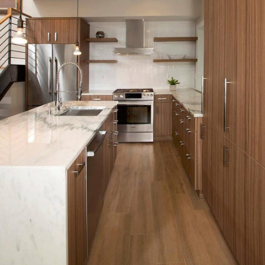 Waterfall Countertops Interior And Kitchen Design Style