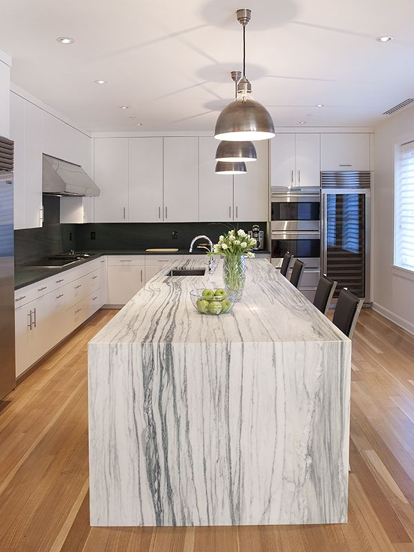 Waterfall Countertops The Hottest Style Of Granite From Southern Kentucky